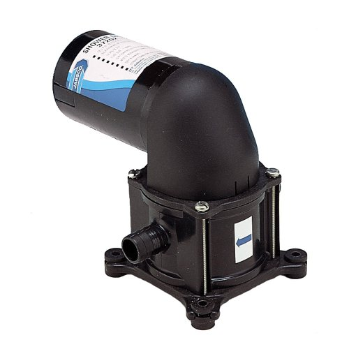 Jabsco 37202-2012 10 amp Shower Drain Bilge Pump