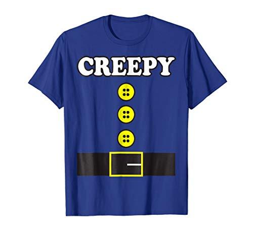 Halloween Costume Shirt Creepy Elf Dwarf Seven Office Diy -