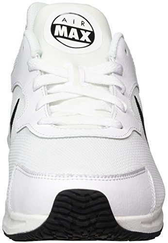 Hombre NIKE Black Guile Zapatillas MAX White para Blanco White Air 100 grfqrwxX
