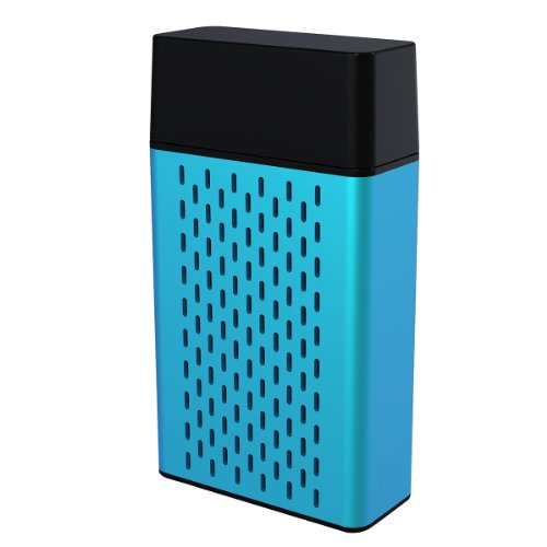 Hype Aluminum Bluetooth Portable Speaker for iPhone 5s iPad Air/Mini,Samsung Galaxy S5/S4/Note and Tablets - Retail Packaging - - Galaxy Stereo Speakers S5 Home