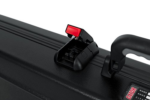 c329ccf2924 Gator Cases Molded Flight Case For Strat/Tele Style Electric Guitars With  TSA Approved Locking
