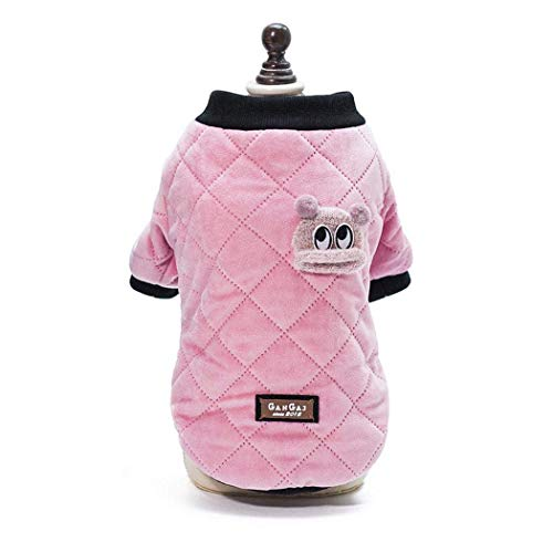 (RSHSJCZZY Pet Dog Keep Warm Coats Windproof Cold Weather Jackets Small Medium Large Dog)