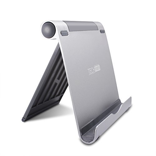 TechMatte Multi-Angle Aluminum Portable Stand for iPad Pro, Tablets, E-Readers, Smartphones, and Nintendo Switch - XL Stand