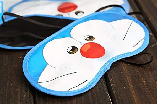 CJB Lovely Doraemon Kid's Eye Mask for Sleeping Travel Games Yellow