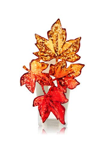 Bath and Body Works Cascading Leaves NIGHTLIGHT Wallflowers Fragrance Plug