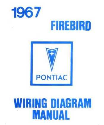 amazon com 1967 pontiac firebird trans am wiring diagram schematic rh amazon com
