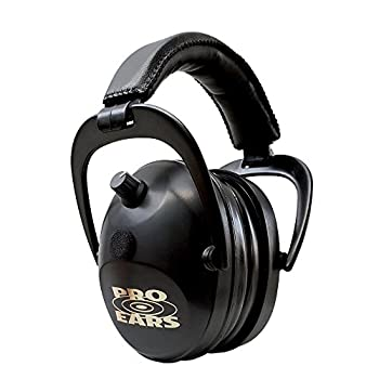 Image of Earmuffs Pro Ears Gold II 26 - Electronic Hearing Protection & Amplification - Shooting Earmuff - NRR 26 - Electronic Hearing Protector Ear Muffs