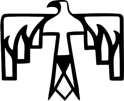 Amazon Native American Thunderbird Symbol Decal Sticker Car