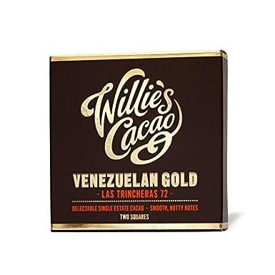 El cacao venezolano chocolate negro 72% 80g de Willie: Amazon.es: Alimentación y bebidas