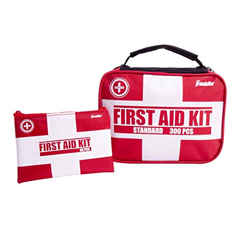 Franklin Sports Sideline 2-in-1 Premium First Aid Kit (300 Piece) by Franklin Sports