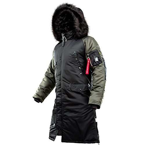 AIRBOSS N-7B Shuttle Challenger (S, Black/Beluga) (Parka Extreme Cold Weather)