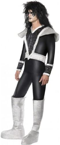 Smiffys Disfraz de Rockero Glam de los Años 70 para Hombre ...
