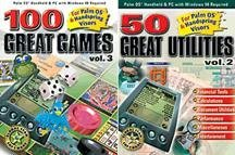 100 Great Games V3 & 50 Great Utilities V2 (PDA) (Jewel Case) - PC by Global Star Software