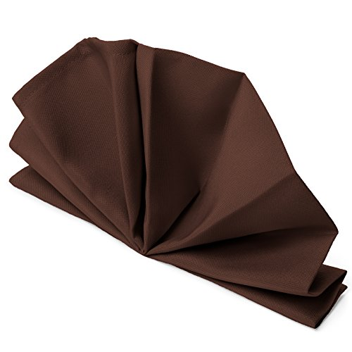 Napkins Chocolate Brown Dinner - Mill & Thread - 1 Dozen 20