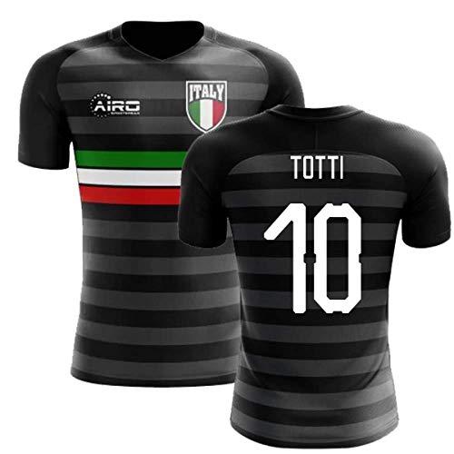 d7d3ad20f Airosportswear 2018-2019 Italy Third Concept Football Soccer T-Shirt Jersey  (Francesco Totti