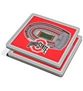 YouTheFan NCAA StadiumView 3D Coaster
