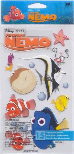 Disney Finding Nemo Dimensional Sticker (DCGIJ02) - Sheets Nemo Finding Disney