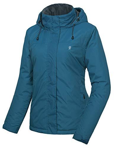 Little Donkey Andy - Chamarra de esquí para Mujer, Impermeable, cálida, Aislante, Cortavientos, para la Nieve y la Lluvia, Azul(Mosaic Blue), M