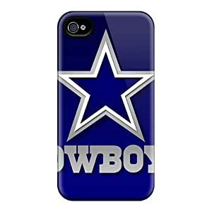 Iphone 4/4s Hard Back With Bumper Silicone Gel Tpu Cases Covers Dallas Cowboys