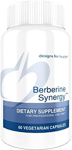 Designs for Health Berberine and ALA Complex - Berberine Synergy, 400mg Berberine HCl + Alpha Lipoic Acid (60 Capsules)