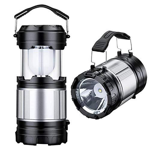 FidgetFidget Camping Hiking Portable Solar Lantern AC Rechar