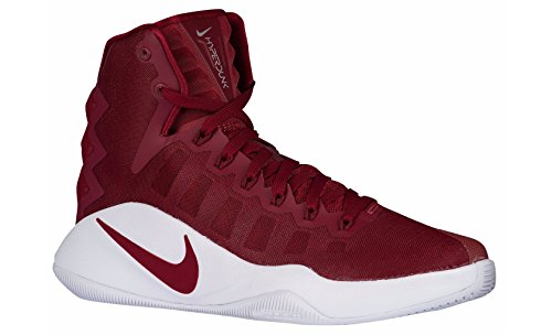 2016 Womens Nike Hyperdunk Team Red/Metallic Silver