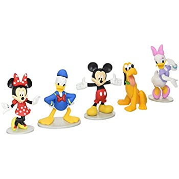 Amazon.com: Just Play Disney Mickey Mouse Collectible Figure Set ...
