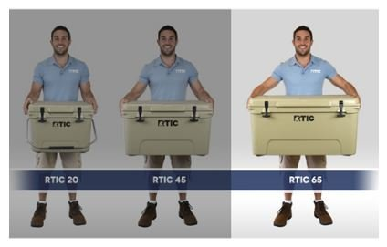 RTIC Cooler (RTIC 65 Tan) by RTIC (Image #3)