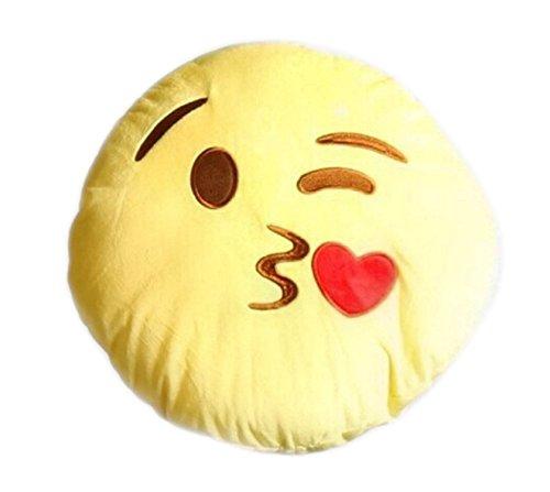 Kiss Stuffed Emoticon Decoration Children