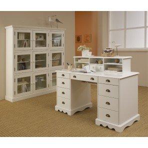 Schöne Möbel nicht lieben Büro-Set, weiß