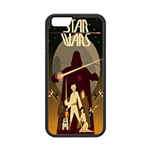 Unique Phone Case Design 11Star Wars Pattern- For Apple Iphone 6 Plus 5.5 inch screen Cases
