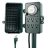 BN-LINK 24 Hour Mechanical Outdoor Multi Socket