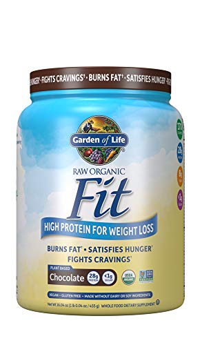 Garden of Life Organic Meal Replacement – Raw Organic Fit Vegan Nutritional Shake for Weight Loss, Chocolate, 16.3oz…