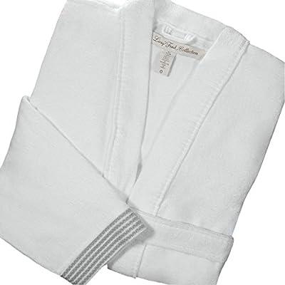 Living Fresh Turkish Bathrobe - Luxurious Silky Soft Spa Bath Robe Breathable and Lightweight