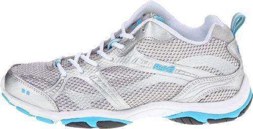 RYKÄ - Zapatillas para deportes de interior para mujer, color Plata, talla 37 Plata - plateado