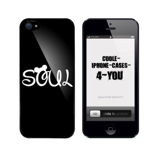 Iphone 5 / 5S Schutzhülle Soul - schwarzer Rahmen