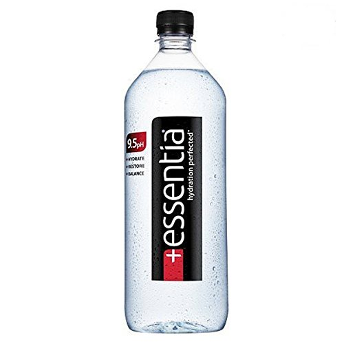 Essentia Ionized Alkaline 9.5 pH Bottled Water, 12 ounce (24 Pack)