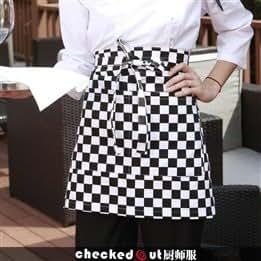 830,120 kitchen chef bar food Café waiter and Korean fashion creative cute aprons coveralls