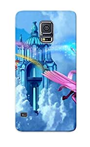 New Fashionable Situssptn KrsQsnx6789hCFgt Cover Case Specially Made For Galaxy S5(papel De Parede Barbie)