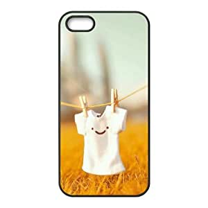 Customized case Of Smile Face Hard Case for iPhone 5,5S
