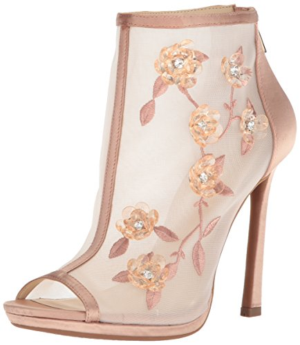 Jessica Simpson Women's Pedell Pump, Light Sheer-Cinder, 6 Medium - Jessica Gold