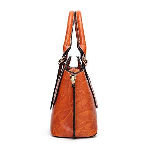 Aoligei Sac à main fashion épaule seul oreiller sac version coréenne marée diagonal des femmes Cross sac féminin A