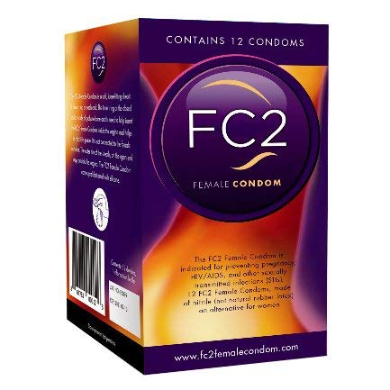 FC2 Female Condoms 10 Pack with a Free Vibrator