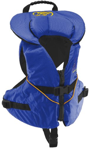 Stohlquist Infant/Toddler Life Jacket made our list of camping safety tips for families who RV and tent camp