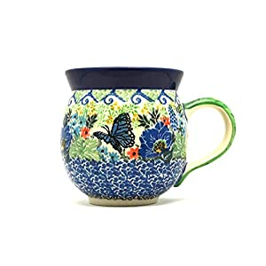 Polish Pottery Mug – 11 oz. Bubble – Unikat Signature U4600