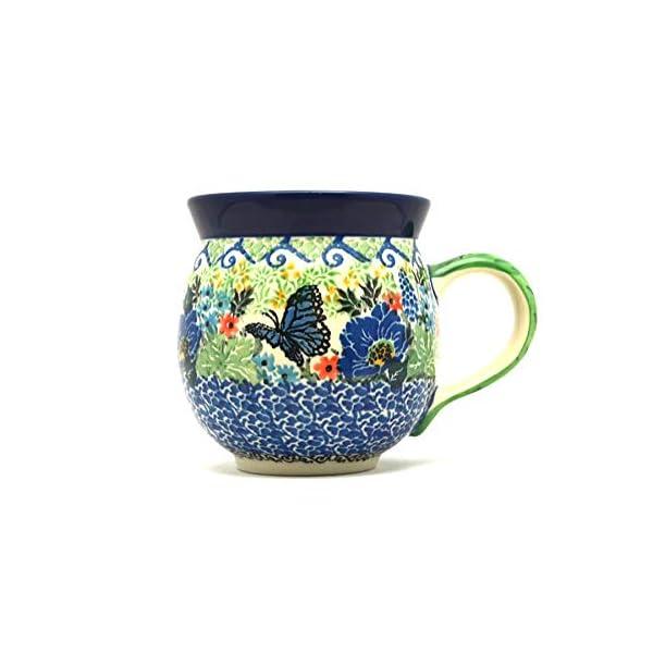 Polish Pottery Mug – 11 oz. Bubble – Unikat Signature U4600