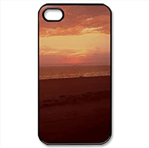 Beach Watercolor style Cover iPhone 4 and 4S Case (Beach Watercolor style Cover iPhone 4 and 4S Case)