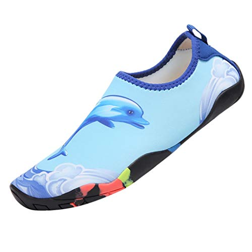 Pengy Unisex Beach Shoes Swimming Shoes Water Shoes Barefoot Quick Dry Aqua Shoes Mens Womens Sports Shoes ()