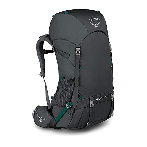 Osprey Packs Renn 50 Women's Backpacking Pack, Cinder Grey, One Size