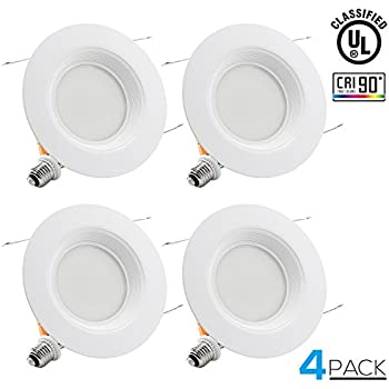 Torchstar 4 inch dimmable recessed led downlight 12w 85w torchstar wet location 56 inch dimmable recessed led downlight 18w 120w equivalent aloadofball Image collections